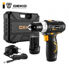 Дрель-шуруповерт аккумуляторная DEKO GCD12DU3 SET 3