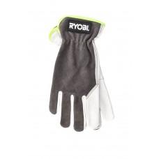 Перчатки садовые кожаные RYOBI RAC810L