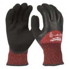 Перчатки рабочие зимние с защитой от порезов уровень 3 MILWAUKEE 10/XL