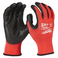Перчатки рабочие с защитой от порезов уровень 3 MILWAUKEE 8/M