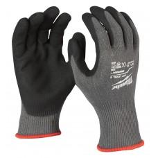 Перчатки рабочие с защитой от порезов уровень 5 MILWAUKEE 11/XXL