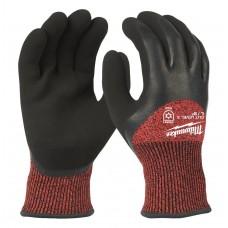 Перчатки рабочие зимние с защитой от порезов уровень 3 MILWAUKEE 9/L
