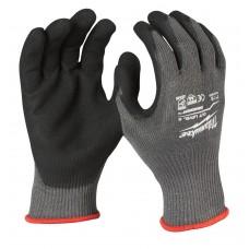 Перчатки рабочие с защитой от порезов уровень 5 MILWAUKEE 8/M