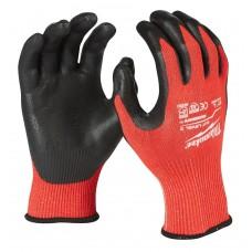 Перчатки рабочие с защитой от порезов уровень 3 MILWAUKEE 10/XL