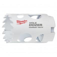 Коронка биметаллическая MILWAUKEE HOLEDOZER CARBIDE D 35 мм