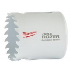 Коронка биметаллическая MILWAUKEE HOLEDOZER CARBIDE D 44 мм