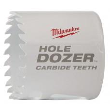 Коронка биметаллическая MILWAUKEE HOLEDOZER CARBIDE D 51 мм