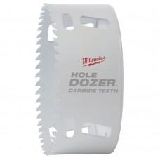 Коронка биметаллическая MILWAUKEE HOLEDOZER CARBIDE D 108 мм